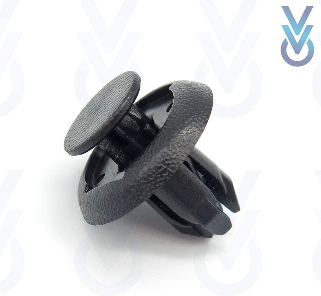 VVO Fasteners Front Wheel Arch Lining /& Mudguard Clips Pack of 10 Black