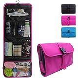 Relavel Travel Hanging Toiletry Bag for Men Women Travel Kit Shaving Bag Waterproof Wash Bag Makeup Organizer for Bathroom Sh