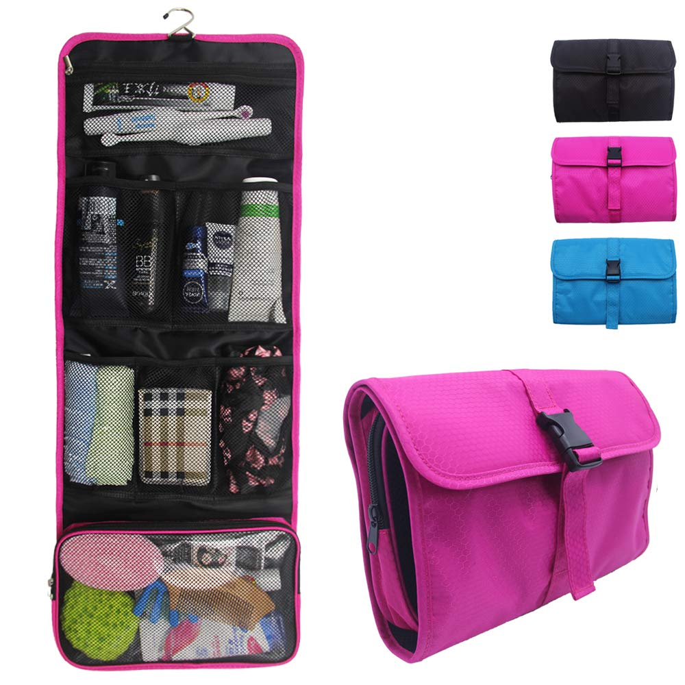 1f2555a21f887 Travel Hanging Toiletry Bag Travel Kit Organizer Cosmetic Makeup Waterproof  Wash Bag for Women Girls Travel