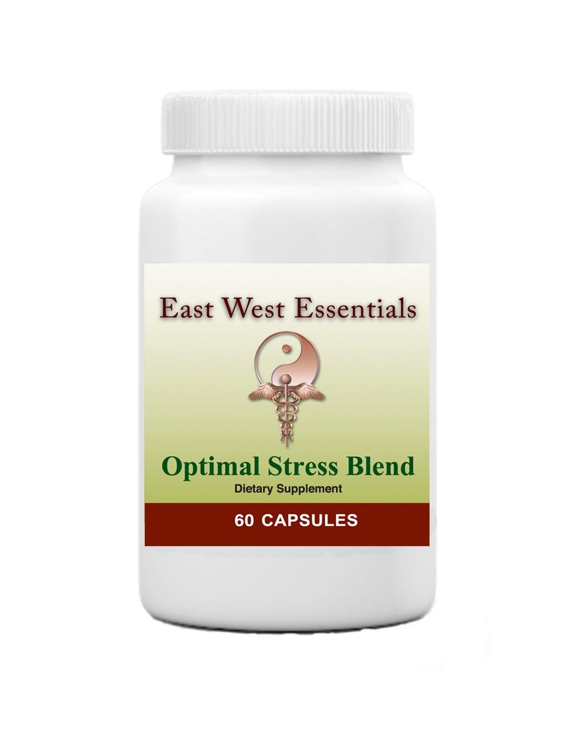 Optimal Stress Blend - Dietary Supplement by East West Essentials - Vitamin B Complex Blend - Offers Nutritional Support for Anxiety and Depression
