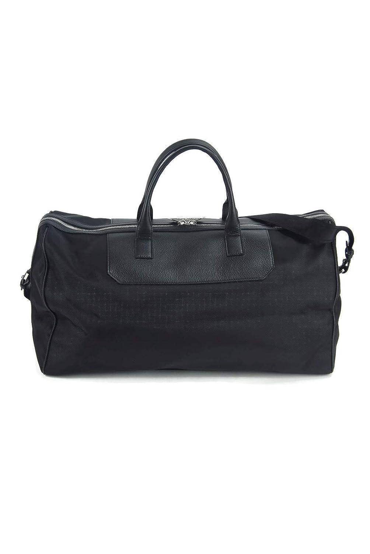 e5574d27da Amazon.com | Versace Collection Black Leather & Nylon Medusa Weekender  Carry On Duffel Travel Bag | Travel Duffels