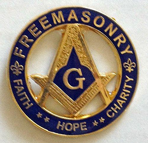 "1.25"" Masonic Lapel Pin(FHC)"