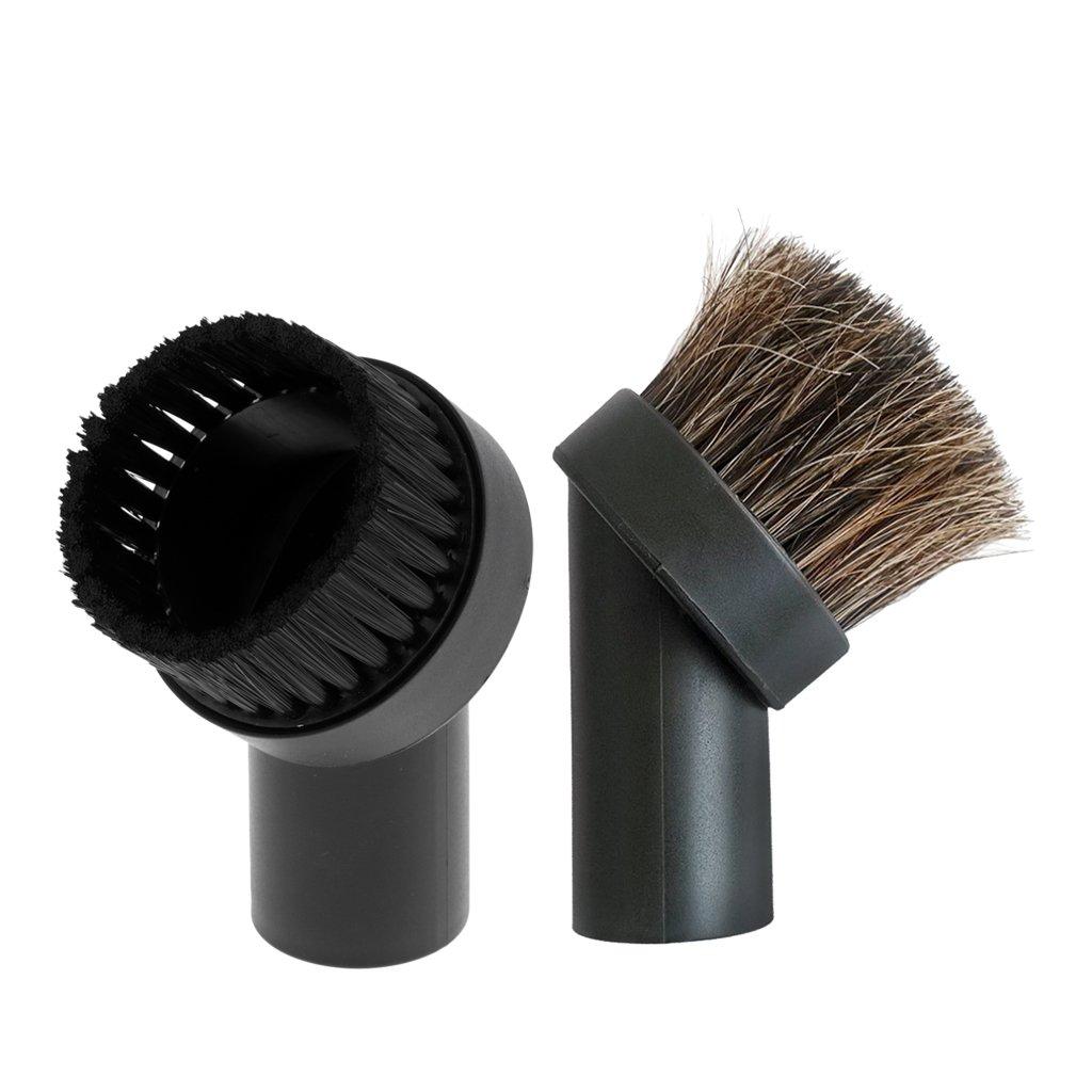 adatto per il diametro 35 mm con robusto rivestimento in ecopelle capelli setole DREHFLEX mobili spazzola//spazzola per mobili per aspirapolvere