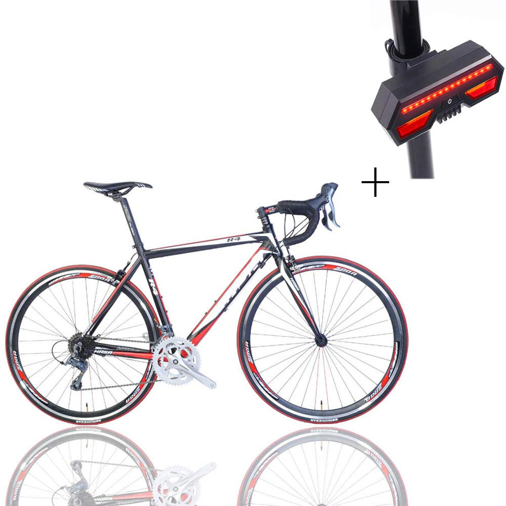 自転車、ロードバイク、52 Cm 16スピード、アルミニウム合金、ダブルナイフリング、ノンスリップ摩耗タイヤ、ギフト自転車のターンシグナル   B07H1JC9SD