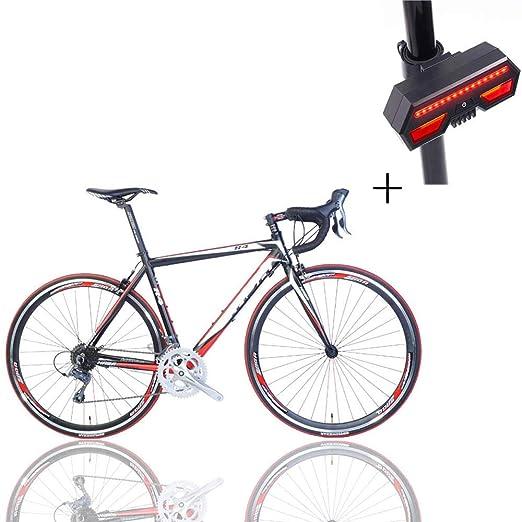 Huoduoduo Bicicleta, Bicicleta De Carretera, 52 Cm 16 ...