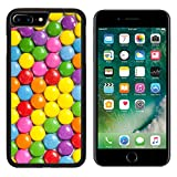 img - for MSD Premium Apple iPhone 7 Plus Aluminum Backplate Bumper Snap Case IMAGE ID: 6981207 photo shot of color candies book / textbook / text book
