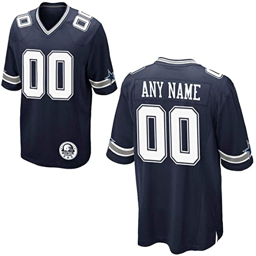 b214b11139f Amazon.com  Custom Football Jersey Personalized Your Names Numbers ...
