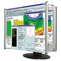 Kantek Lcd Monitor Magnifier Filter, Fits 17-inch Lcd Screens Measured Diagonally (Mag17l)