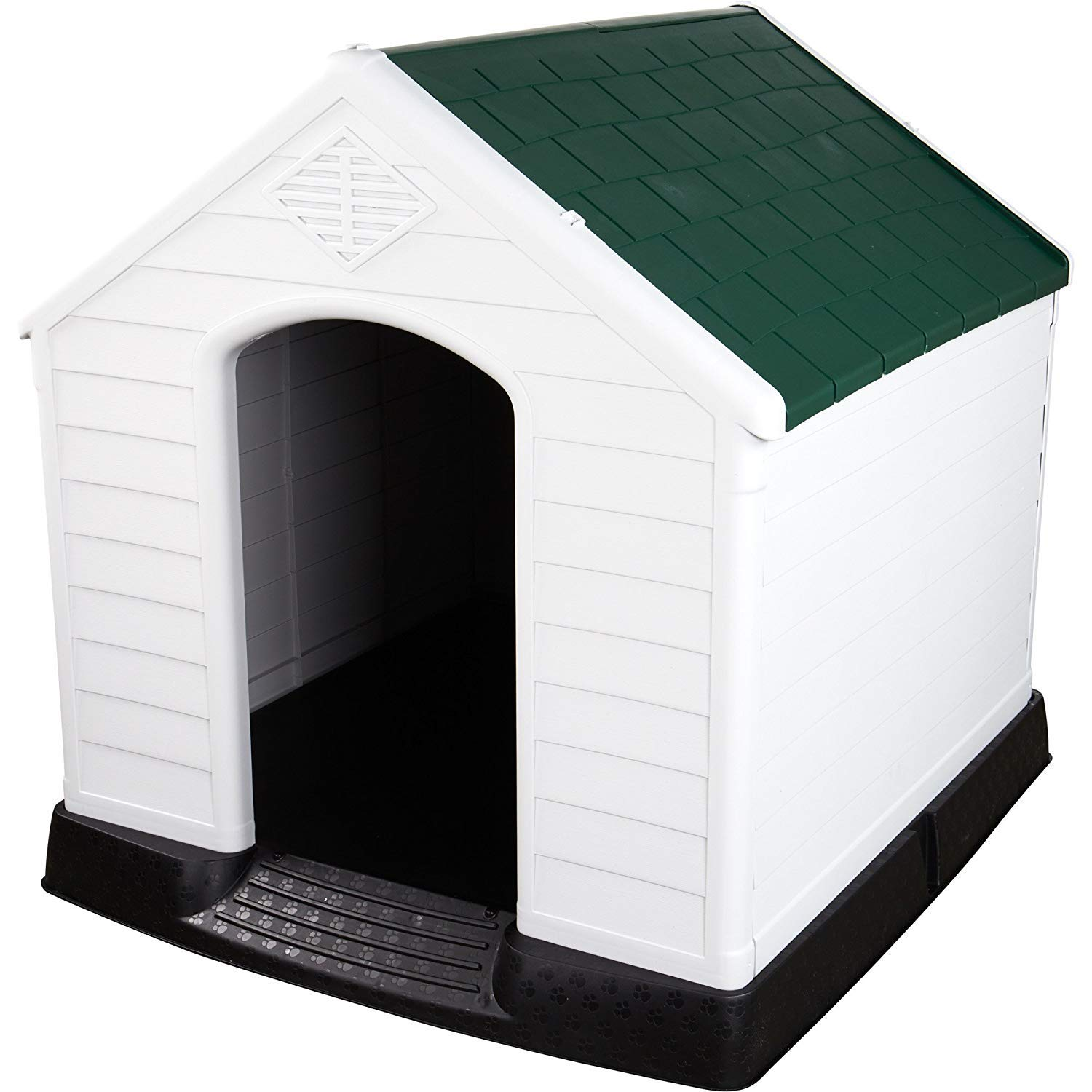 Green Large Green Large Large Dog Kennel,Indoor Outdoor Dog,Kennel,Windproof Dog Kennel,Keep Your Pets Safe Dog House,Shed Home for Dogs,Big Dog Small Dog,Cat House,Feeding Kennel