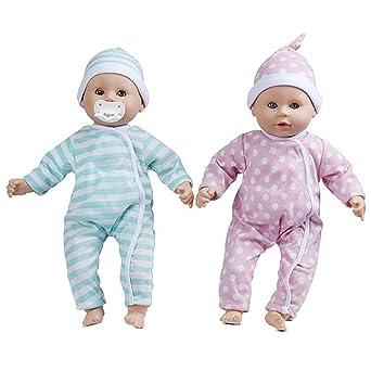 Amazon.com: Mine to Love Luke & Lucy Baby Twins – juguetes ...