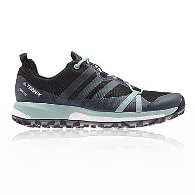 adidas Damen Terrex Agravic GTX Trekking-& Wanderhalbschuhe, Grau (Carbon/Gritre/Vercen 000), 40 2/3 EU