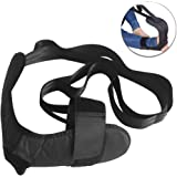 NEPPT Stretching Strap Band Leg Stretch Belt Rope Foot Stretcher for Plantar Fasciitis Exercises Heel Spurs 6 Resistance Loops Achilles Tendonitis /& Ankle Ligaments