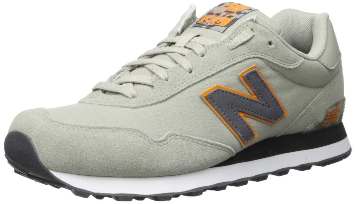New Balance Men's 515 V1 Sneaker, Stone Grey/Magnet/Desert Gold, 7.5 4E US