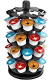 EVERIE Coffee Pod Carousel Holder Organizer Compatible with 40 Keurig K Cup Pods, KRS4005