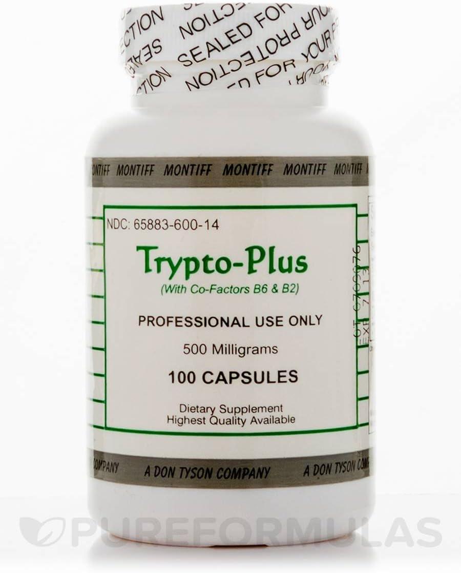 Trypto-Plus 500 mg – 100 Capsules by Montiff