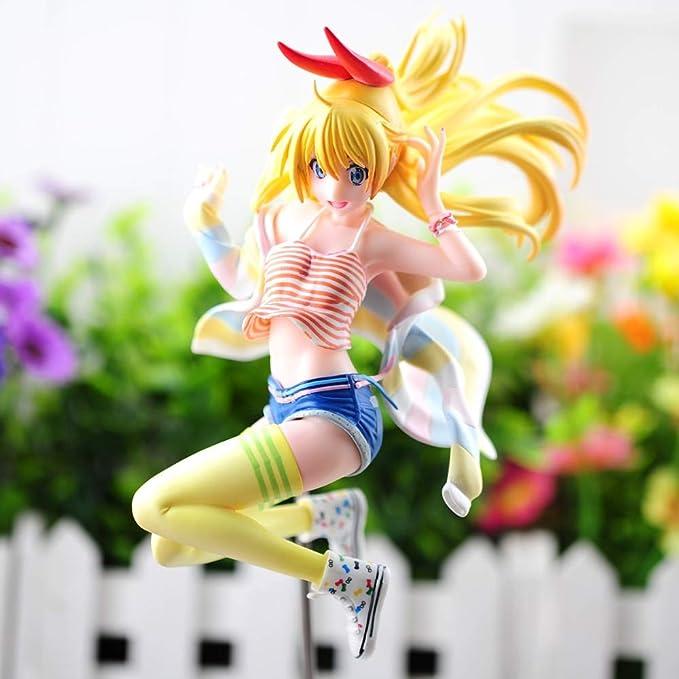 Nisekoi Kirisaki Chitoge PVC Figure Figurine Gift 23cm New No Box