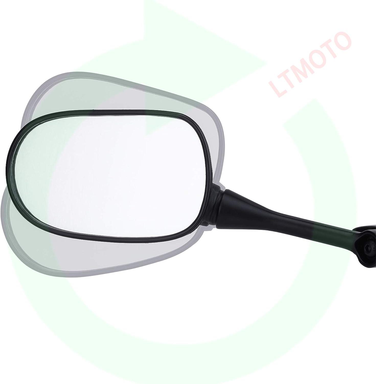 Black LTMOTO Rear View Mirrors,Motorcycle Mirrors for HONDA CBR1000RR 2004 2007,CBR600RR 2003-2019,Suzuki GSXR