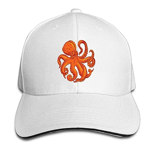 Image Unavailable. Image not available for. Color  Baseball Caps Octopus ... 5d17db80a39