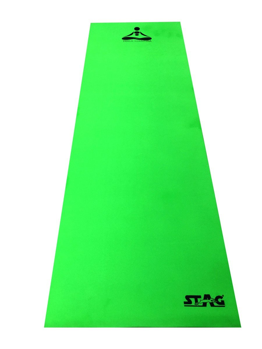 Stag Yoga Mantra Mat, 4mm (Green) (B07679GCQS) Amazon Price History, Amazon Price Tracker