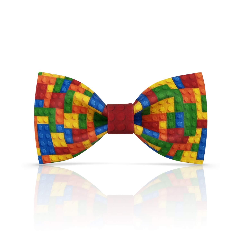 Lanzonia Boy's Bowtie Designer Colorful Kids Bow Tie