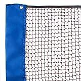 Senston Portable Innen- und Außen Badmintonnetz,Federballnetz,Tennisnetz,Badminton-Netz,Length 510 cm.