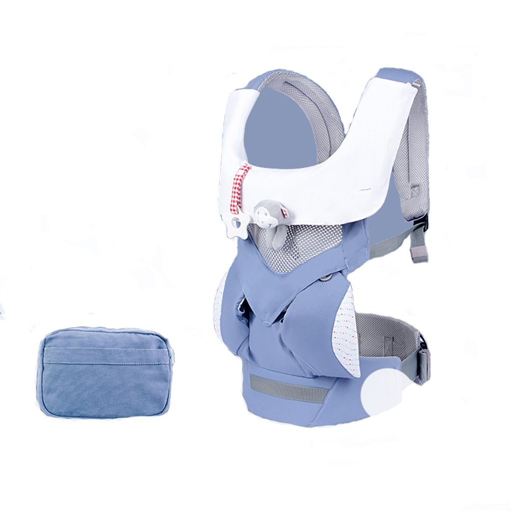 Baby-Babytrage Breathable vier Jahreszeiten Universal Front halten Stil 3-48 Monate Babytragen vorne und hinten von der Geburt (Farbe : D)