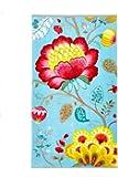 Pip Studio 260256202005 Floral Fantasy Serviette Coton Bleu 55 x 100 cm