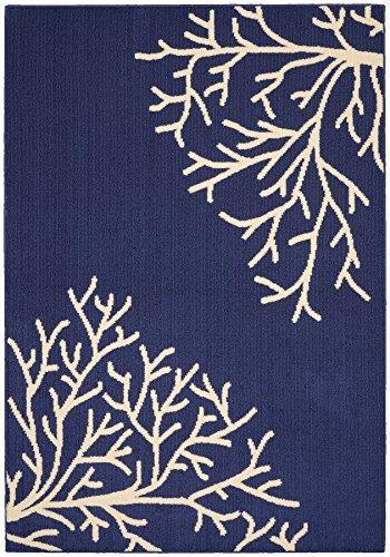 Garland Rug Coral Indigo Ivory product image