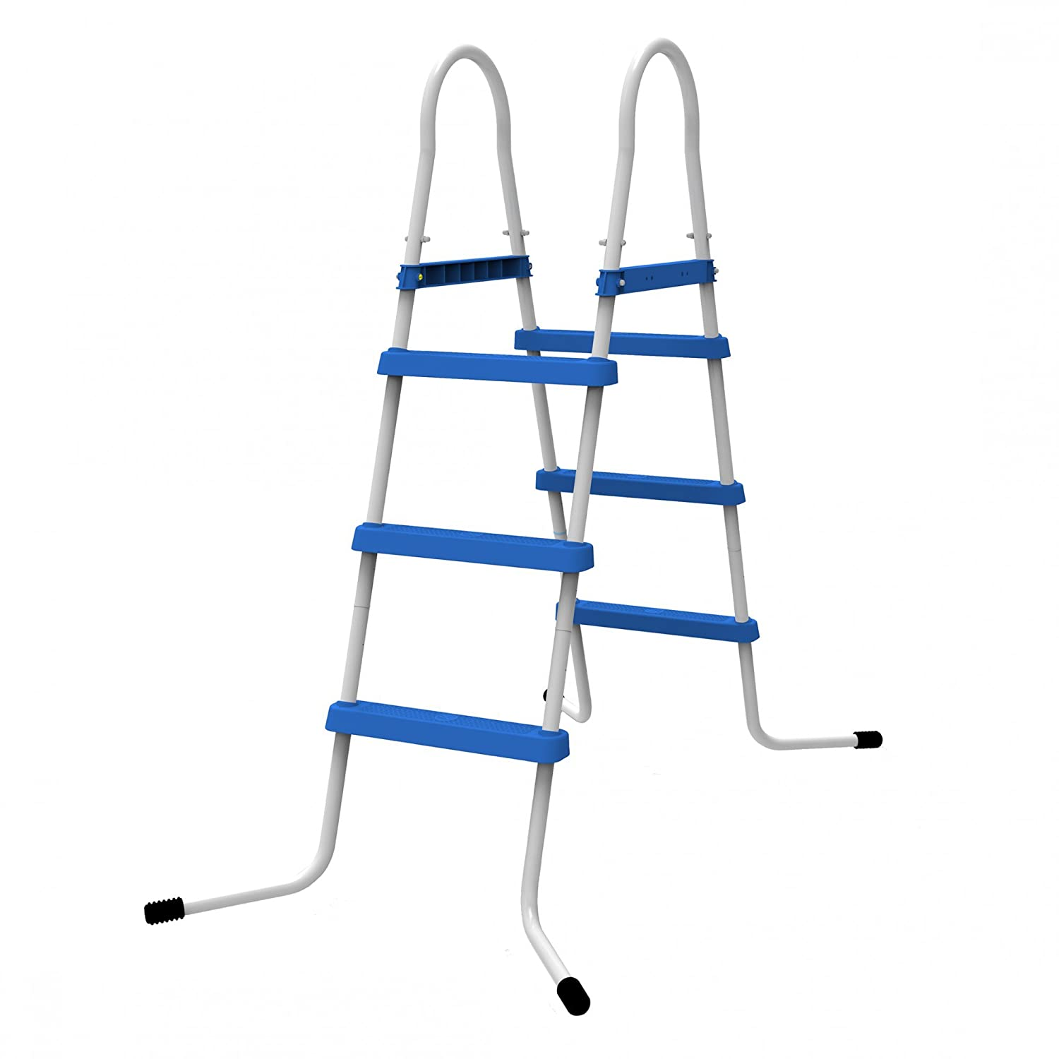 Jilong 3 Tread Pool Ladder for Pool Wall Heights up to 43