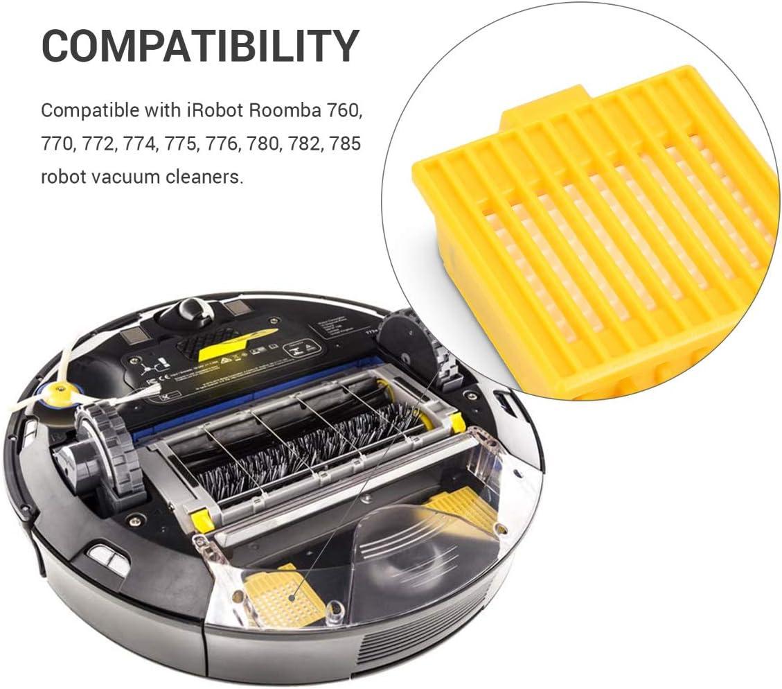 kwmobile Set de 4 filtros de Repuesto para Roomba - Serie 700 ...