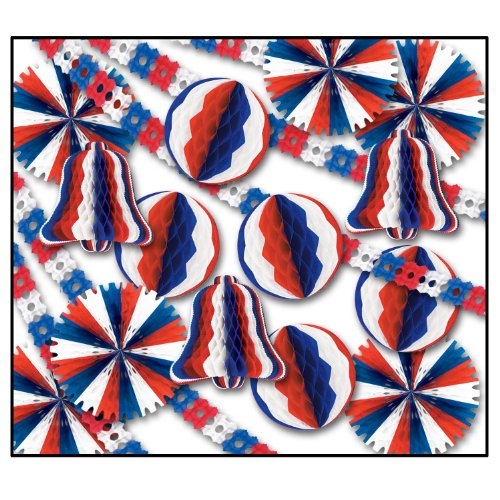 Patriotic Display Decorator - 26 Pcs Party Accessory (1 count) ()