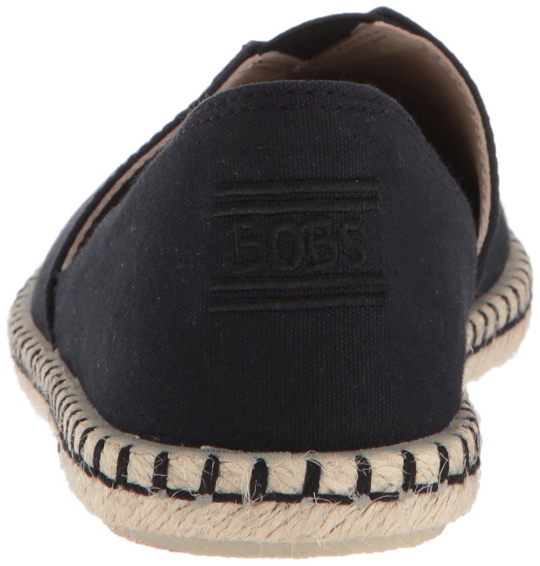 Skechers BOBS from Women's Bobs Day 2 Nite-Canvas Ballet Flat B074T4VPQR 9.5 B(M) US|Black/Black
