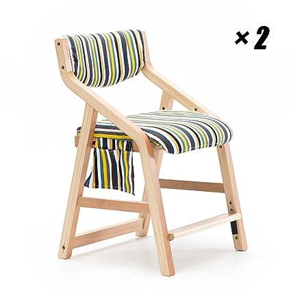 Sedie da Pranzo in Legno Sedie Moderne Sedie Imbottite per Bambini ...