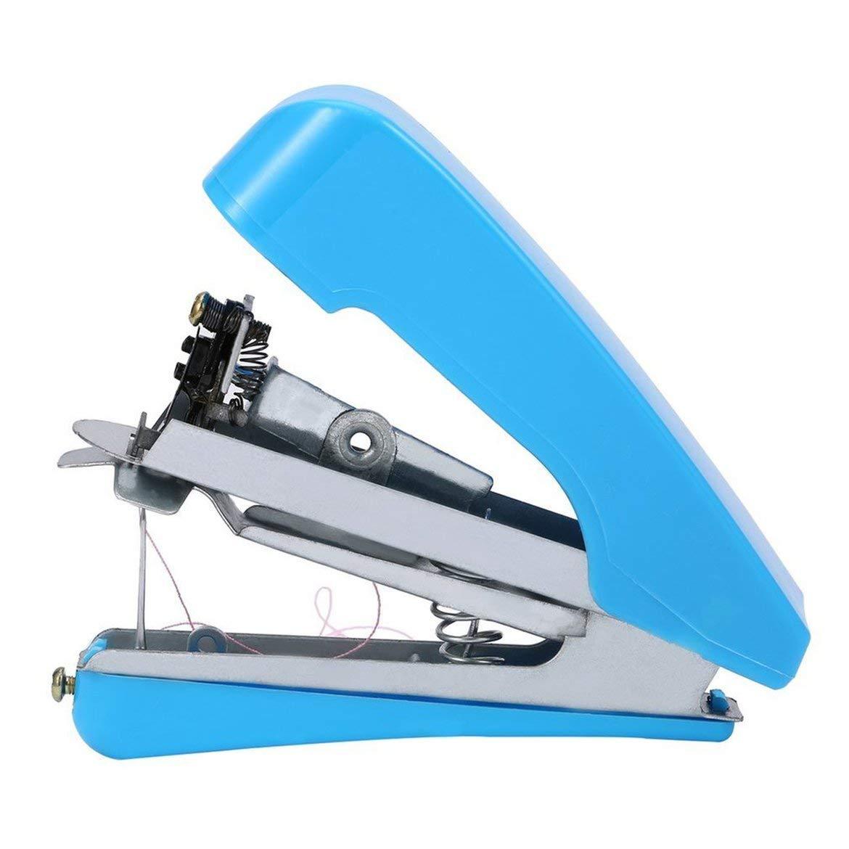 spedito a caso JohnJohnsen Home Essential Travel Use Mini portatili FAI da te cucito macchine per cucire a Mano Senza filo tessuti per Abbigliamento tenuti in Mano macchina da cucire elettrica