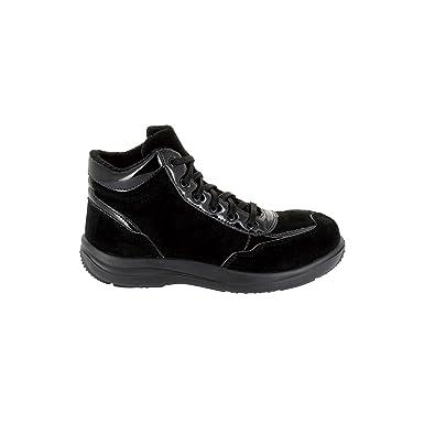 Foxter Chaussures de sécurité Montantes Vicky Noir - Livraison Gratuite avec  - Chaussures Chaussures de travail Femme