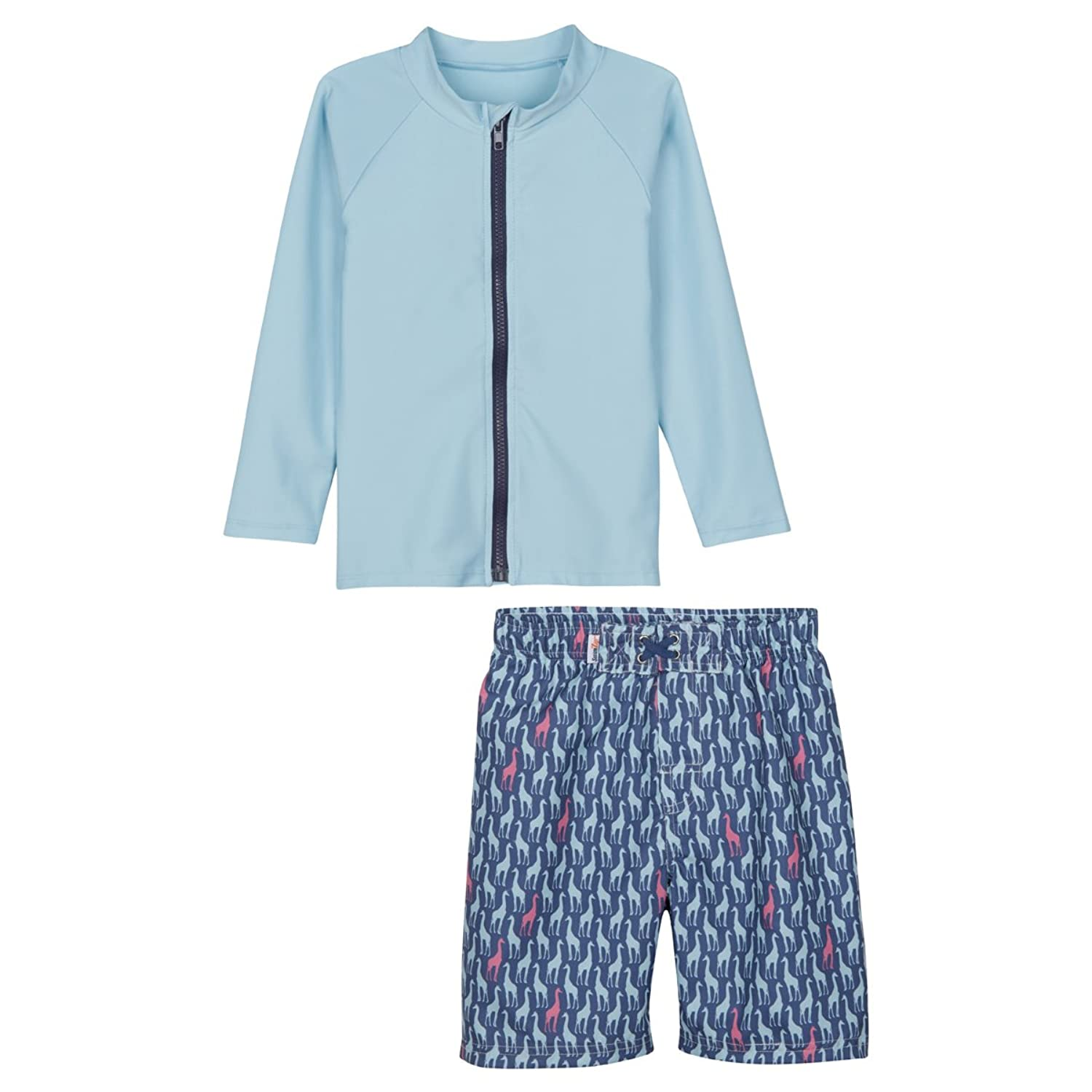 54b8e75120 (UPF is the clothing equivalent of SPF). Easy all day sun protection! Swim  trunks are also UPF 50+!!! SwimZip\'s signature full length zipper ...