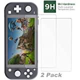iMW Tempered Glass Protector For Nintendo Switch Lite (2 Packs)