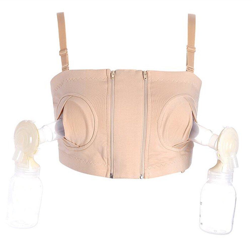 Samber Simple Wishes Hands-Free Breastpump Bra, Black