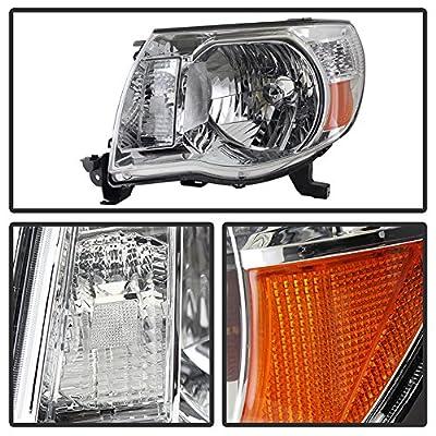 ACANII - For 2005-2011 Toyota Tacoma Pickup Truck Headlights Headlamps 05-11 Driver + Passenger Side Lights Lamps: Automotive