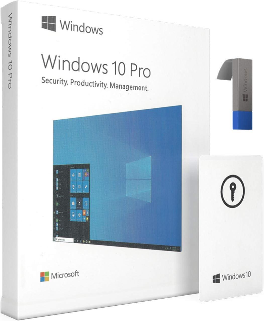 Win 10 Professional 64 bit - USB Flash Drive | English