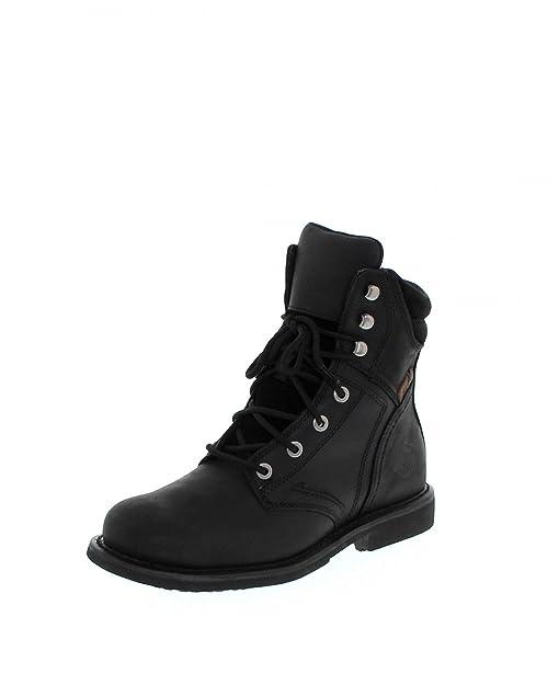 Harley-Davidson - Harley davidsondarnel - Botines con Cordones - Black: Amazon.es: Zapatos y complementos