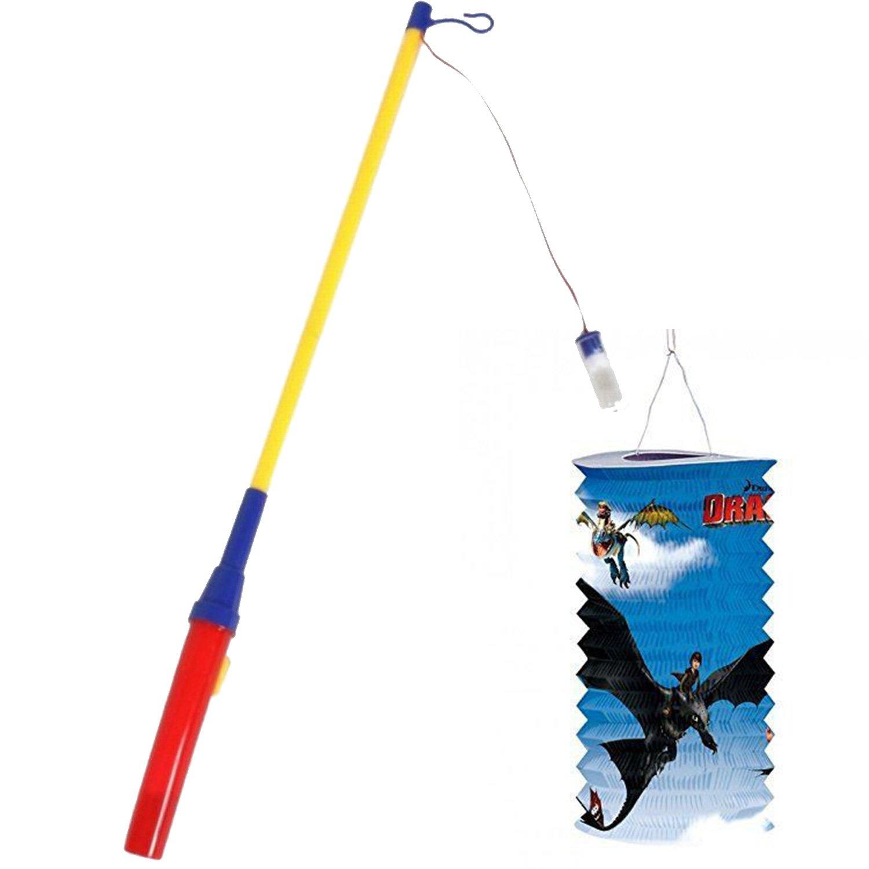 Boland 42018 Elektrischer Laternenstab Mehrfarbig 50 cm