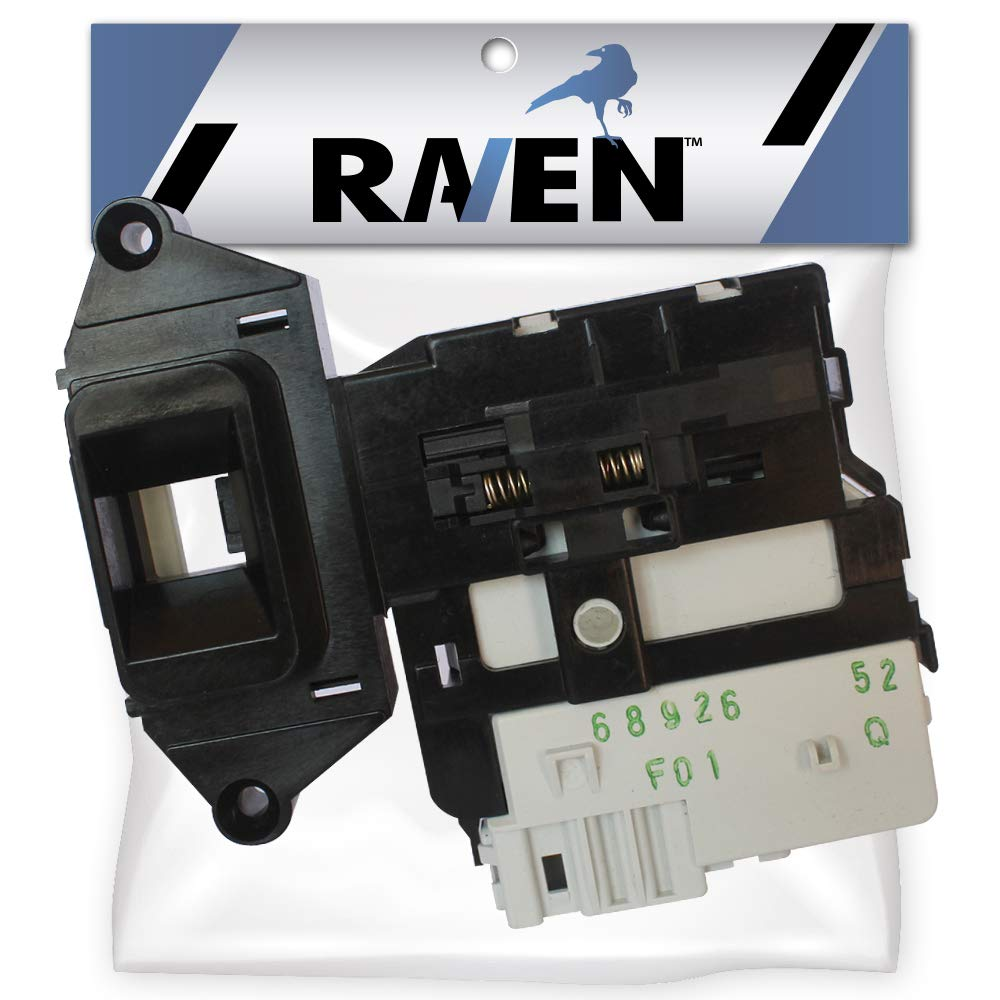 Raven Washing Machine Door Switch Lock Assembly for LG Replaces 6601ER1004C, EBF49827801, AP4998848, 6601ER1004E, EBF49827802, PS3533609