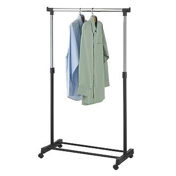 Mobile Garderobenständer top kleiderständer mex 45 mobile kleiderstange roll garderobe