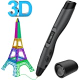 3D Printing Pen, Aerb Intelligent 3D Pen Compatible with PLA / ABS for Crafting, Art & Model With LED Display,Best for DIY Gift