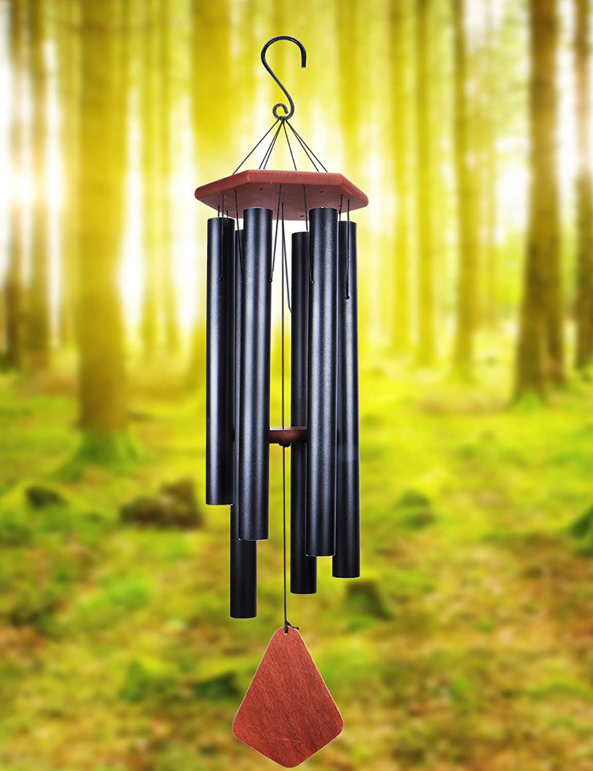 MUMTOP Wind Chimes Outdoor Large Deep Tone, Musical Tuned Wind Chimes, Metal Outdoor Decorative Wind Chimes Memorial and Sympathy