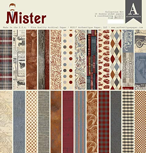 Authentique Collection Kit 12x12-mister