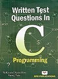 Written Test Questions in C Programming