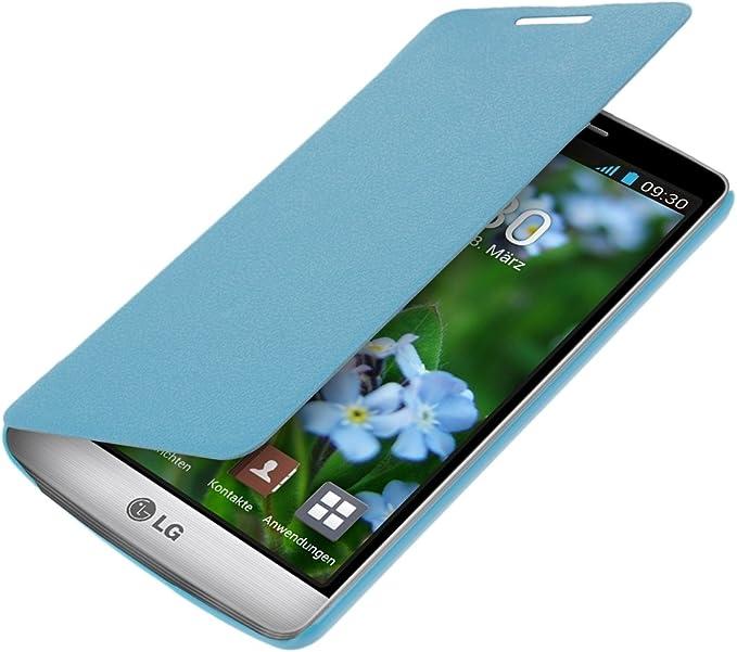 kwmobile Funda Compatible con LG G3 S - Carcasa con Tapa Tipo ...