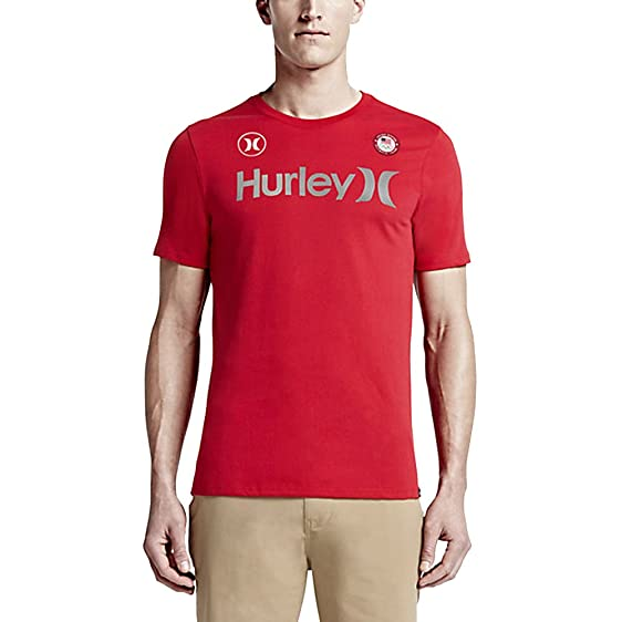 Hurley DriFIT One And Only Team (USA) Weiß  TShirt
